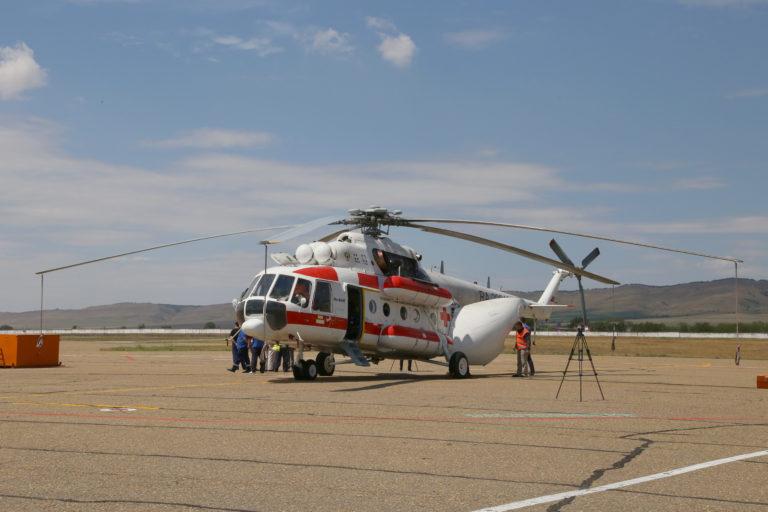 Вертолет СанАвиации