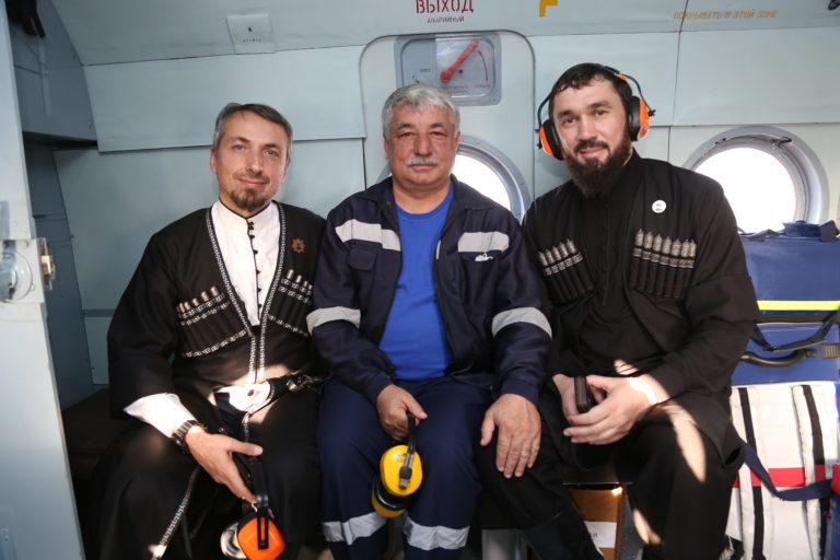 Председатель Парламента Чеченской Республики проверять работу СанАвиации